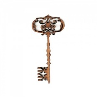 Ornate Key Style 1 MDF Wood Shape x 2