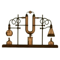 Chemistry Laboratory Apparatus  - MDF Wood Shape 03