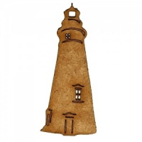 Lighthouse MDF Wood Shape Style 3