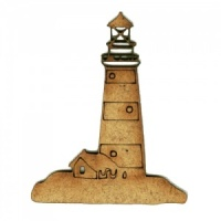 Lighthouse MDF Wood Shape Style 6