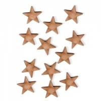 Star Shape - Mini MDF Wood Plaques