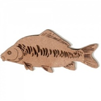 Mirror Carp MDF Fish Wood Shape - Style 1