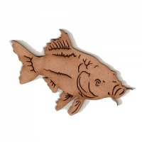 Mirror Carp MDF Fish Wood Shape - Style 2