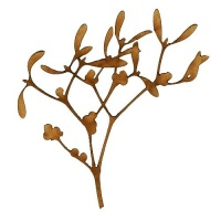 Mistletoe Branch - MDF Wood Shape