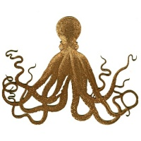 Giant Sea Octopus - MDF Wood Shape