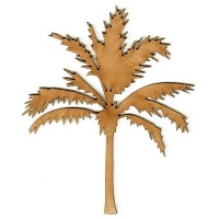 Palm Tree MDF Wood Shape