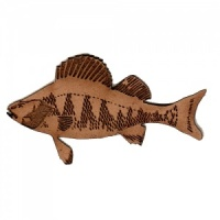 Perch MDF Fish Wood Shape