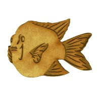 Puffer Fish - MDF Sea Fish Wood Shape