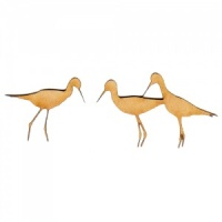 Sandpiper Group MDF Wood Bird Shape