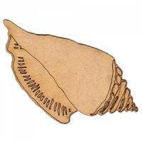 Conch Seashell - MDF Wood Shape