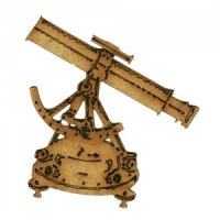 Ships Sextant MDF Wood Shape - Style 1