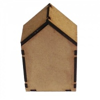 Block Style MDF House Kit - Short