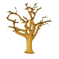 Skeleton Tree MDF Wood Shape - Style 2