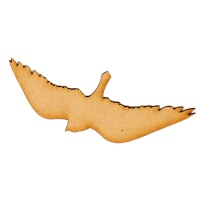 Soaring Songbird MDF Wood Bird Shape