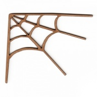Spider Web - MDF Corner Wood Shape