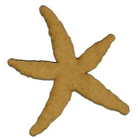 Starfish - MDF Wood Shape