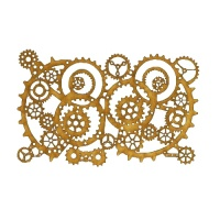 Steampunk Mechanical Cogs Motif Style 13