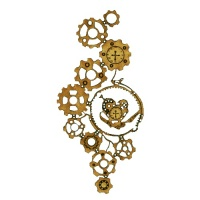 Steampunk Mechanical Clockworks Motif Style 18