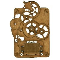 Steampunk Mechanical Clockworks Motif Style 23