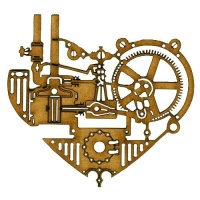 Steampunk Mechanical Clockworks Motif Style 29