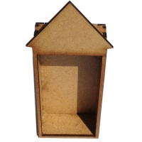 Plain MDF House / Shrine Kit - Tall