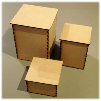 MDF Tea Caddy - Storage Box Kits