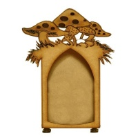 Toadstool MDF Shrine Kit - Style 9