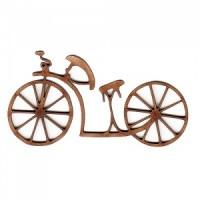 Vintage Bicycle MDF Wood Shape Style 1