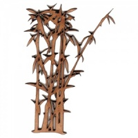 Bamboo Thicket MDF Wood Shape