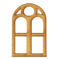 Decorative Window - MDF Wood Shape