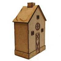 Winter Barn Style Townhouse - MDF House Kit
