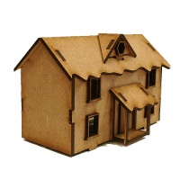 Winter Cottage - MDF House Kit