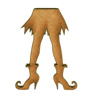 Witch's Legs MDF Wood Shape