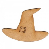 Witches Hat MDF Wood Shape - Style 2