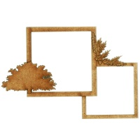 Autumn Multi Frame - Oak & Acorns