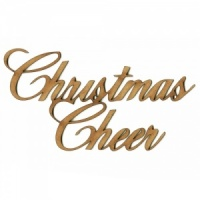Christmas Cheer - Wood Words in Ancestry Font
