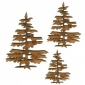 Christmas Tree MDF Wood Shape Style 6
