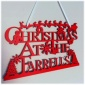 Christmas At The - Personalised Plaque