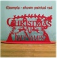 Christmas At - Personalised Plaque