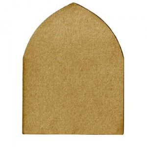 Tudor Arch Shape - MDF Mixed Media Board
