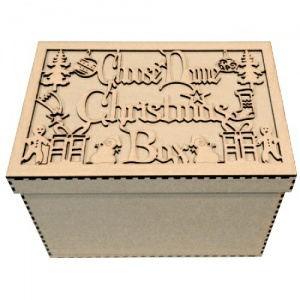 Personalised Christmas Box - Birch Plywood
