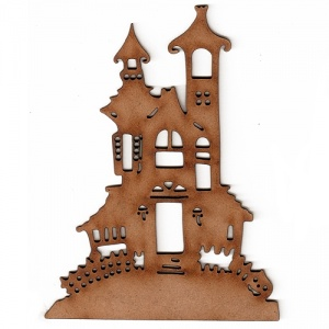 Haunted Mansion - MDF Wood Shape