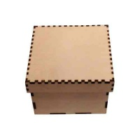 Birch Plywood Box Kits - Square
