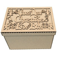 Personalised Christmas Eve Box - Birch Plywood