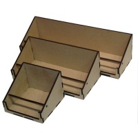 Birch Ply & MDF ATC/Tag Display Boxes