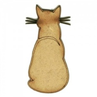 I Am Not Speaking To You Cat - MDF Wood Shape