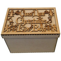 Personalised Christmas Eve Box - MDF
