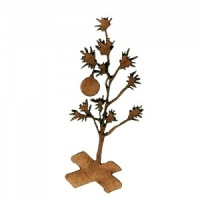 Christmas Tree MDF Wood Shape Style 1