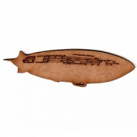 Dirigible MDF Wood Shape
