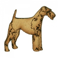 Terrier - MDF Wood Dog Shape